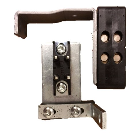 Doubble contact for Viksam door, with brackets