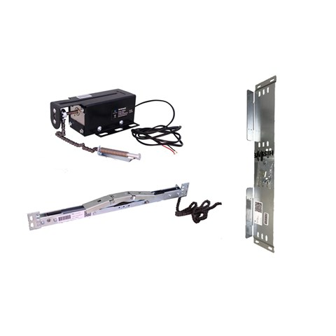 Retiring ramp incl. Motor, ELB-Kompakt, short, incl. mounting kit
