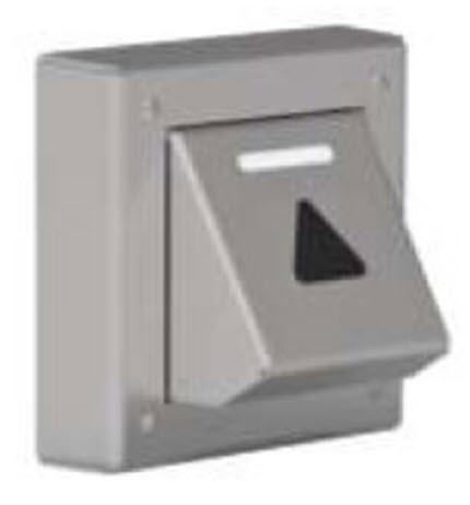 Call station, DMG, 1-button, foot-activated, surface mounted