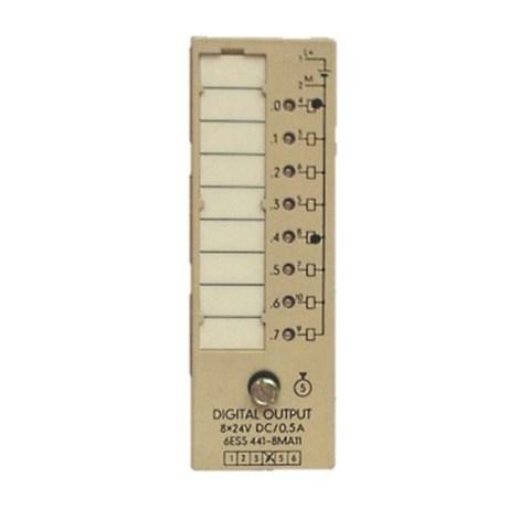 Relay module, Siemens PLC, 6ES5 8MA11, used