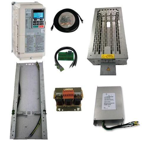 Yaskawa L1000, 15kW/31A, mit Austauschkit für Schindler Smart Vacon
