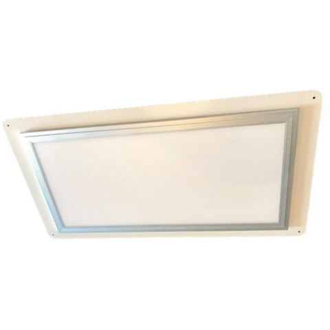 LED panel on mounting plate, 685x360mm, 20W